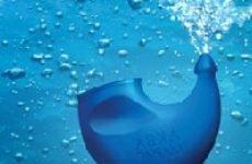 Морська вода при нежиті (застосування, лікування)