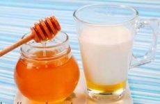 Молоко і мед при кашлі