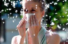 Народні засоби від алергічного нежитю
