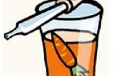 Морквяний сік від нежиті (застосування та лікування)
