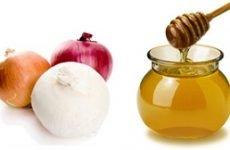 Рецепти з цибулею і медом від кашлю