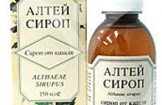 Сироп Алтея інструкція по застосуванню препарату