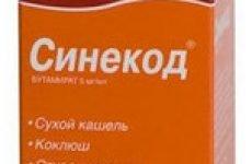 Синекод — краплі інструкція застосування препарату