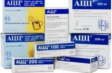 АЦЦ інструкція по застосуванню і опис препарату