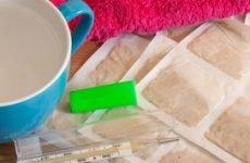 Гірчичники при сухому кашлі (інструкція)