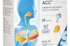 АЦЦ для дітей – інструкція по застосуванню лікарського засобу