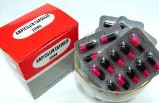 Ампіцилін при ангіні у дорослих та дітей: як його приймати і наскільки це безпечно