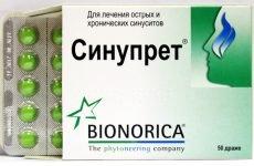 Все про таблетки Синупрет від нежиті