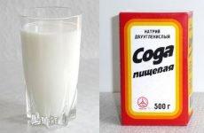 Молоко з содою від кашлю (рецепт)