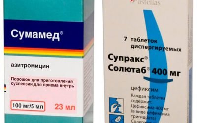 Які ліки — Сумамед або Супракс — краще при ангіні?