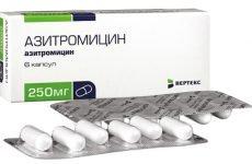 Який антибіотик приймається від ангіни по 3 таблетки?