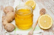 Рецепт для імунітету мед лимон імбир – суміш і напій