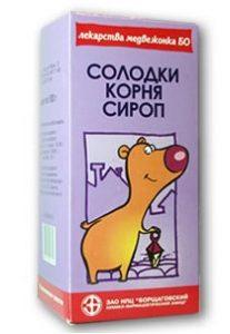 Корінь солодки від кашлю (сироп)