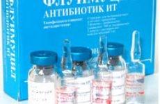 Флуімуціл-антибіотик ІТ: інструкція по застосуванню