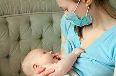 Чи можна годувати дитину грудьми при ангіні у матері?