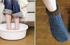 Зігрівання ніг у гарячій воді при нежиті – стародавній спосіб боротьби з хворобою
