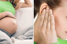 Чим лікувати хворе вухо під час вагітності?