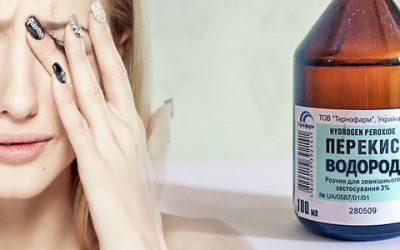 Як лікувати гайморит перекисом водню?