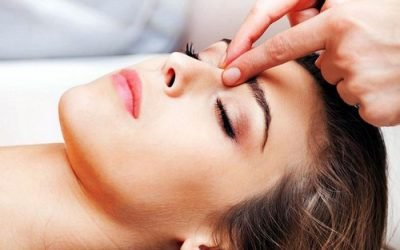 Точковий масаж при нежиті – куди і на які точки натискати