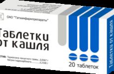 Таблетки від кашлю: інструкція із застосування, склад, дозування