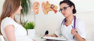 Чим лікувати отит під час вагітності?