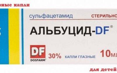 Краплі Альбуцид: інструкція із застосування, побічні ефекти, аналоги і ціна ліки