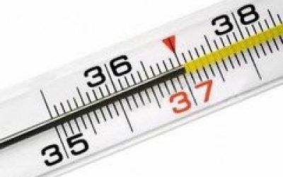 Температура 37-38 тримається тиждень – причини у дорослого