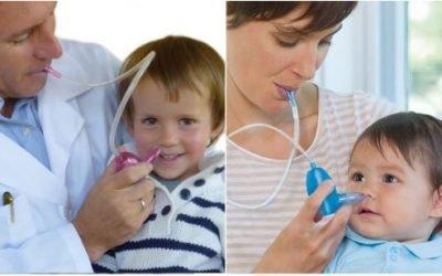 Як прочистити ніс немовляті від соплів – якими предметами користуватися