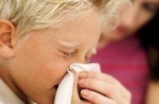 Закладеність носа у дитини – лікування, причини, краплі