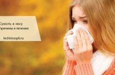 Сухість у носі: причини, лікування, що робити