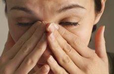 Біль у носі – причини і лікування
