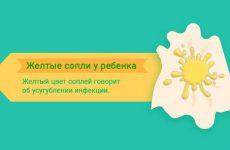 Рідкі жовті соплі у дитини – лікування, причини, народні засоби