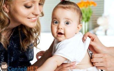 Слиз в горлі у немовляти – лікування, причини