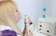 Інгаляції при пневмонії небулайзером і домашніми умовами