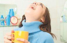 Чим полоскати горло при ангіні в домашніх умовах?