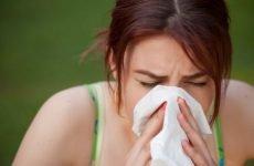 Дієта при алергічному риніті: правильний раціон харчування