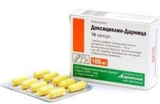 Доксициклін при гаймориті: застосування та дозування препарату для дорослих