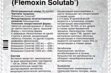 Флемоксин солютаб при гаймориті – застосування і дозування