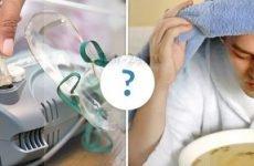 Інгаляції при ангіні у дітей і дорослих: види інгаляцій, застосування