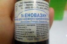Меновазин при гаймориті і нежиті: як застосовувати для лікування?