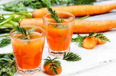 Морквяний сік від нежитю для дітей: рекомендації щодо застосування та народні рецепти