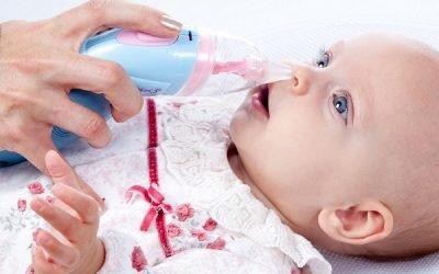 Відсмоктувач соплів у дітей: як почистити ніс немовляті