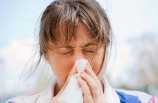 Піносол при гаймориті, нежиті і закладеності носа