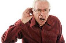 Стареча приглухуватість: причини, симптоми і лікування