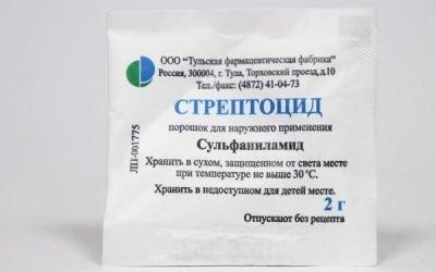 Стрептоцид від нежиті і гаймориту: як застосовувати для лікування?