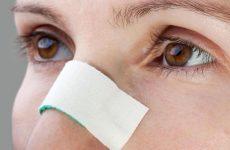 Забій носа у дитини і дорослого: що робити, як швидко вилікувати пухлину