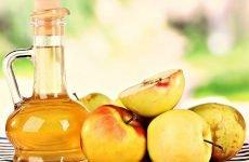 Яблучний оцет при ангіні: як полоскати горло і можна