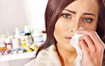 Закладений ніс і болить голова, температури немає чим лікувати?