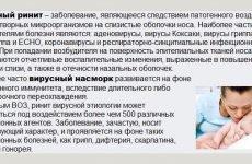 Чим лікувати вірусний риніт (нежить) – тредиционно або народно?
