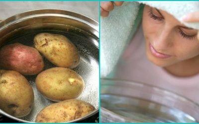 Як правильно дихати над картоплею при нежиті – ефективно?